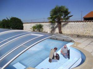 La SARL Coussy détecte les fuites de vos piscines. Photo appartenant exclusivement à www.coussy-freres.fr